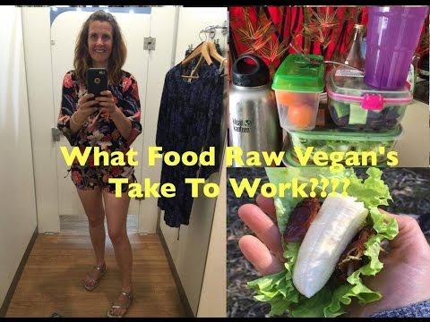 What Food Do Raw Vegans Take To Work??? 80/10/10
