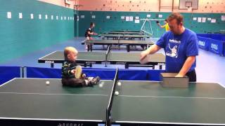 Jamie Playing Multiball (the Original) Ping Pong Baby