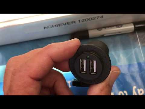 USB Charger Port Addition - 12V Yacht Panel