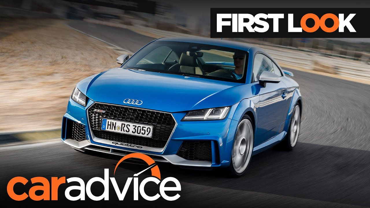 Amazing 2017 Audi TT RS First Look Review  CarAdvice  YouTube