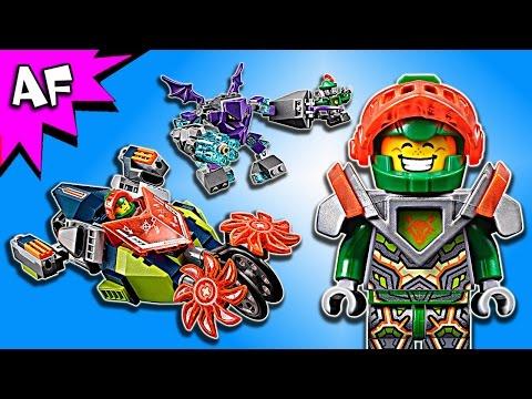 Lego Nexo Knights Aaron's STONE DESTROYER 70358 Speed Build - 동영상