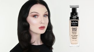 THE PALEST SHADE - NYX CAN'T STOP WON'T STOP Review | John Maclean
