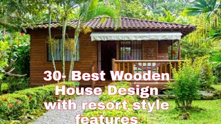 30- Best Bahay Kubo House Design With Resort Style Features ❣️