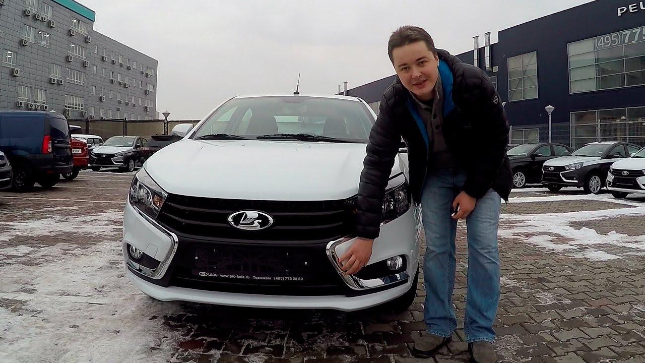 Lada Vesta - Забираем нашу ласточку из Техинкома + первые впечатления