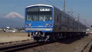 伊豆箱根鉄道駿豆線 富士山をバックに②