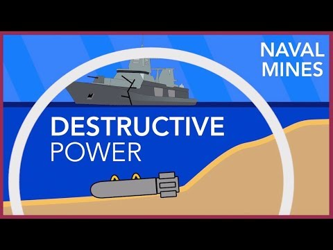 How Naval Mines Destroy Ships