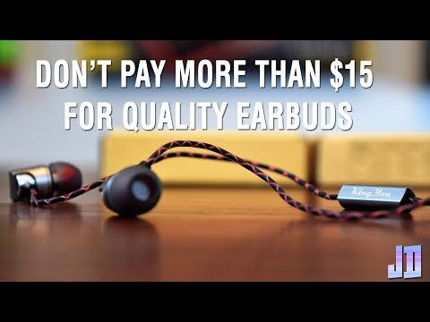 $15 Earbuds Reign Supreme - KingYou Earbuds Review