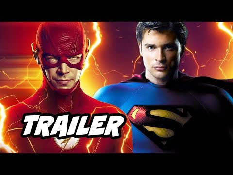 The Flash Season 6 Trailer - Smallville Superman And Kingdom Come Crisis On Infinite Earths