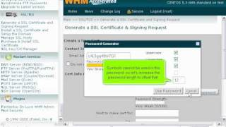 how to generate a new self signed ssl certificate in whm whm management tutorials