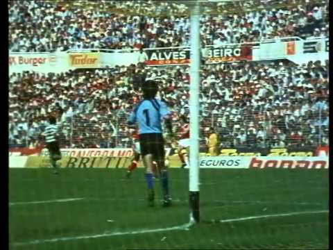 Benfica - 1 x Sporting - 0 de 1982/1983 - Documentário O Nosso Futebol, 1984