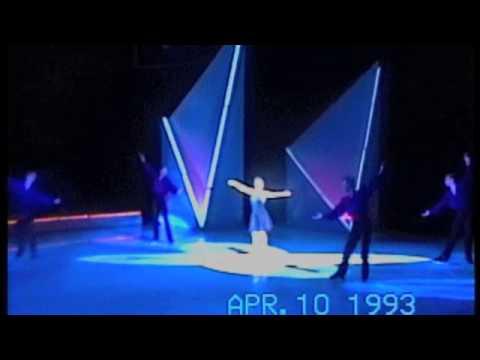Dorothy Hamill 92-93 Ice Capades with her boys