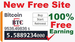 OMG✌️Dont MISS !!!! Launched New NON Investment Free Bitcoin Mining Site 2020+Earn Free BTC Daily