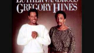 Luther Vandross and Gregory Hines:  There