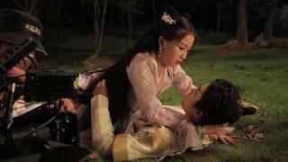 Esther Yu's romantic kissing scene 虞书欣浪漫吻戏 原来萤火虫之吻是这样拍的 |  I'veFallenforYou 少主且慢行 花絮| iQIYI