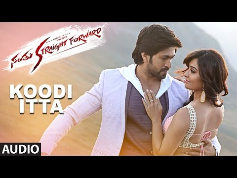 Santhu Straight Forward Songs | Koodi Itta Full Song | Yash, Radhika Pandit | V. Harikrishna