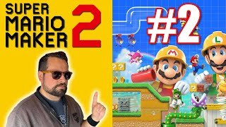 SUPER MARIO MAKER 2 Nintendo Switch Lets Play! Part 2