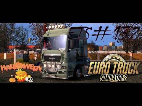 ETS#132 Halloween. Transporting 17 tons of meat from București in Romania to Szeged in Hungary