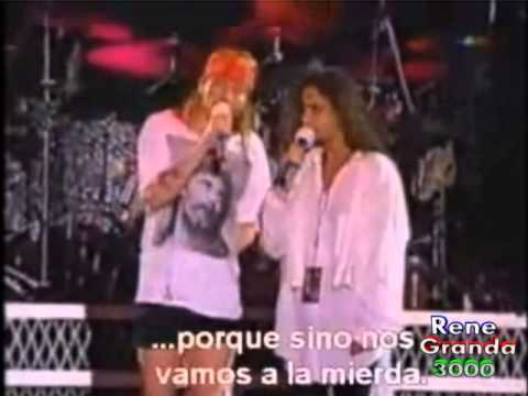 Peleas de Axl Rose en conciertos