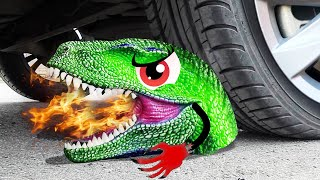 Experiment Car vs Scary Toys | Crushing Crunchy & Soft Things by Car - Woa Doodland
