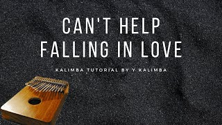 【EASY Kalimba Tutorial】Can't Help Falling In Love by Elvis Presley