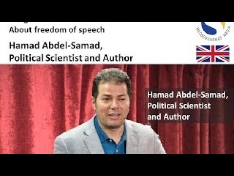 Freedom of Speech Conference part 4 Hamed Abdel Samad