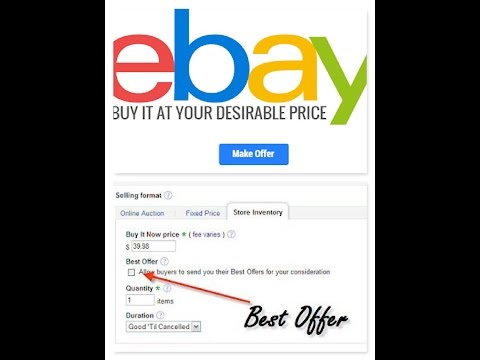 613fa070baaf02 Ebay best offers. How to maximize sales & Profits. - YouTube