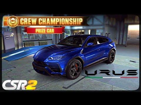 CSR Racing 2 - Lamborghini Urus delivery  - Milestone prize