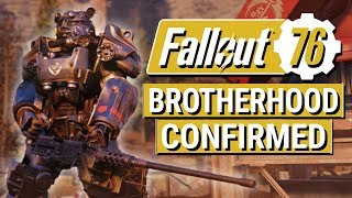 FALLOUT 76: Bethesda CONFIRMS Brotherhood of Steel in Fallout 76!! (Fallout Lore)
