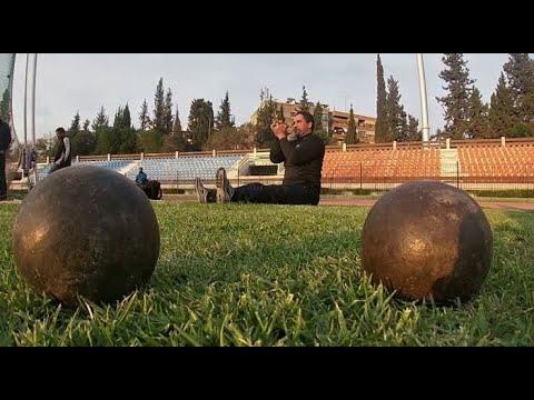 رياضي سوري يتدرب وعينه على أولمبياد ذوي الاحتياجات الخاصة  - 10:00-2019 / 12 / 4