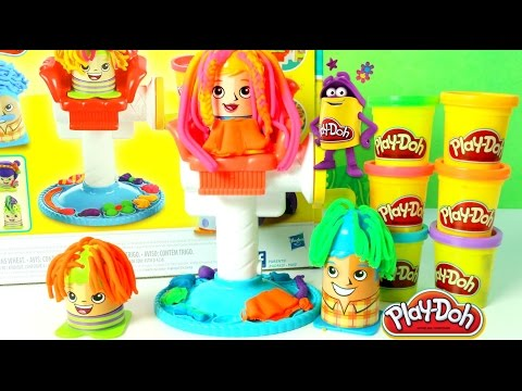 Plastilina Play Doh Peluqueria Play Doh Hair Salon Juguetes Play Doh