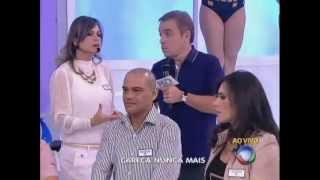 Vanessa Silveira - Record - Programa do Gugu 21/04/2013 - Micropigmentação para a calvície