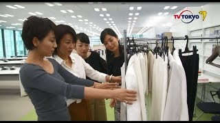 大江アナ、まさかの…?4人の衣装選び!「朝から夜まで経済ニュース」