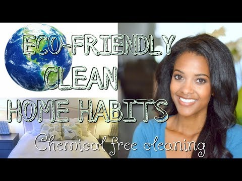 Eco-Friendly Cleaning:12 Tips For A Clean Home | Daily Habits To Keep Your Home Clean And Green!