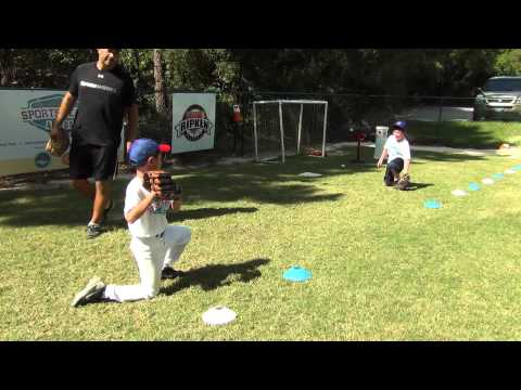 Baseball Throwing Technique Drill #2 (7 & 8 Yr. Olds)