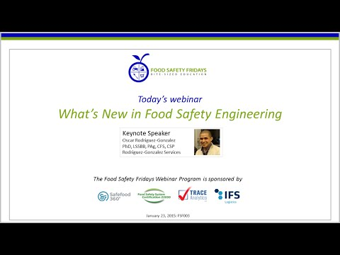 What's New in Food Safety Engineering