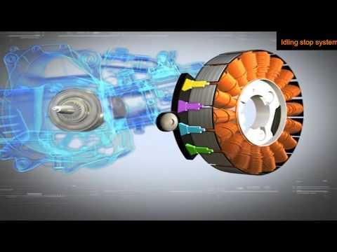 Hệ thông iding stop..., chức năng tắt máy tạm thời trên xe máy