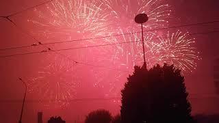 Bouquet final feu artifice Genève 11 août 2018