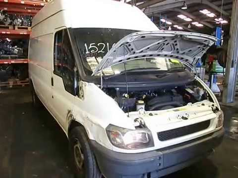 wrecking 2005 ford transit engine 2 4 j14711 youtube. Black Bedroom Furniture Sets. Home Design Ideas