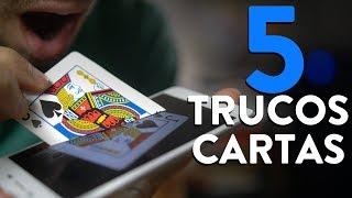 Cómo Hacer los 5 MEJORES TRUCOS CON CARTAS! - Magia Fácil y Visual