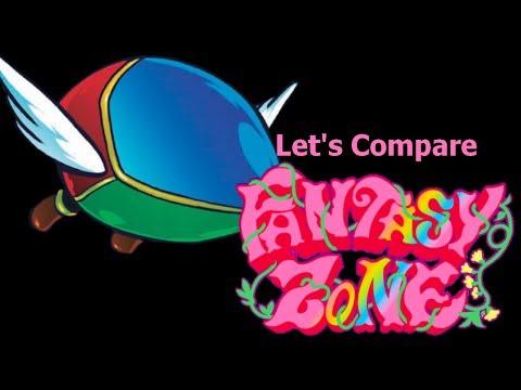 Let's Compare ( Fantasy Zone )