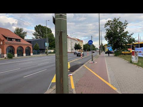 Ideologie vs Realität? - Wir begehen den Pop Up Radweg Adlershof...// Reines Prestigeobjekt? 🤔