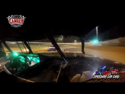 #J2 Jason Dukes - Durrence Layne Street - 7-27-19 Camden Speedway - in-Car Camera