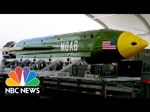 Comparing The 'MOAB' To A Nuclear Bomb | NBC News