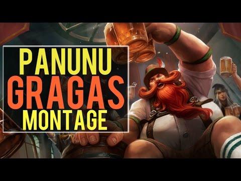 Panunu Gragas Montage | Best Gragas Plays [IRIOZVN]