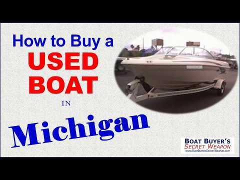 Discover How To Buy A #Used Boat For Sale In Michigan From MI Boat Dealer Or Private Seller