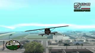 Прохождение GTA San Andreas:Миссия 84-Свободное падение.