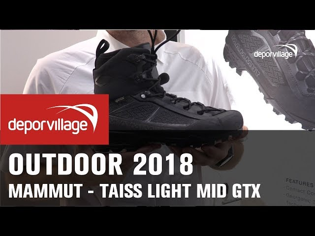 Scarpe Taiss Light Mid GTX di Mammut - Deporvillage Magazine bc715c9473c