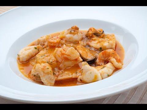 Guiso de rape, mejillones y langostinos - Karlos Arguiñano en tu cocina