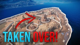 TAKING OVER AN ENTIRE ISLAND! - Rust