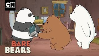 Broken Computer I We Bare Bears I Cartoon Network
